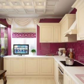 телевизор на кухне идеи оформление