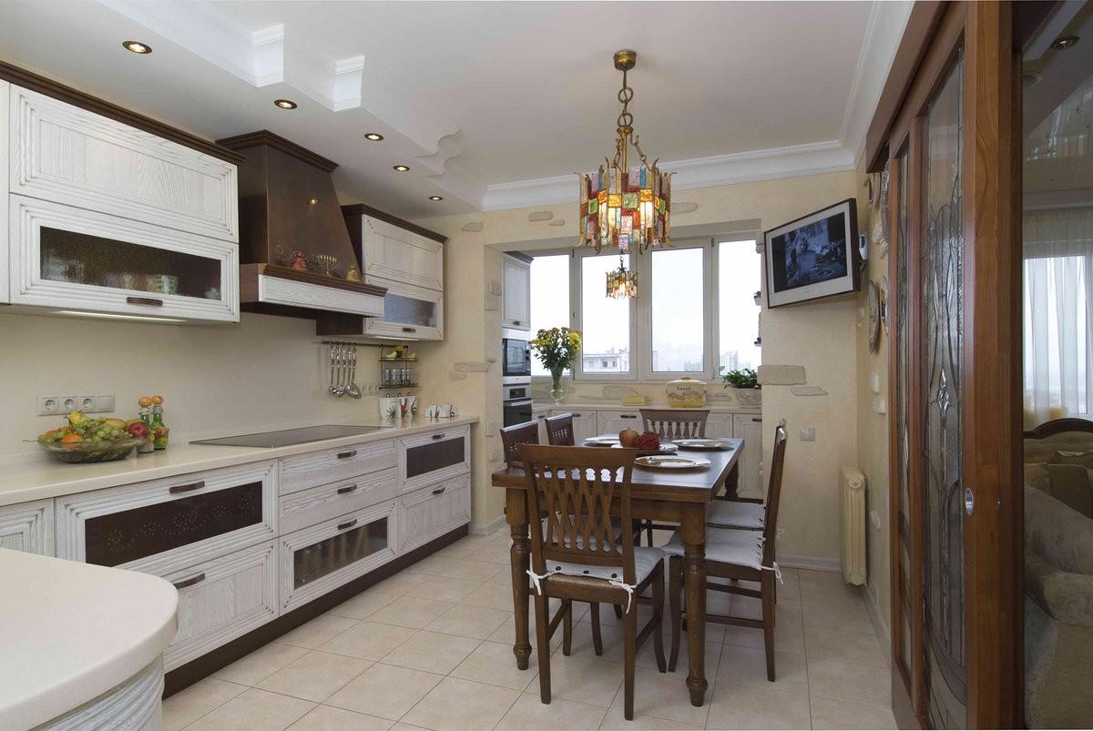 Кухни с телевизором фото дизайн