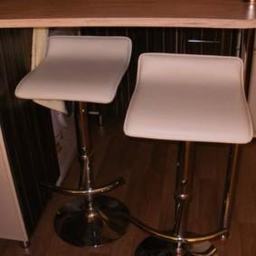 барные стулья для кухни виды фото