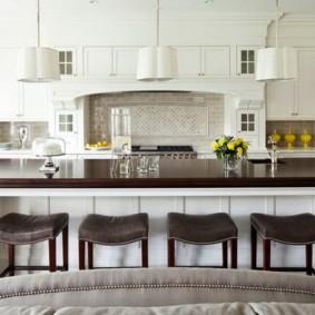 барные стулья для кухни фото видов