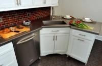 угловая тумба под мойку для кухни
