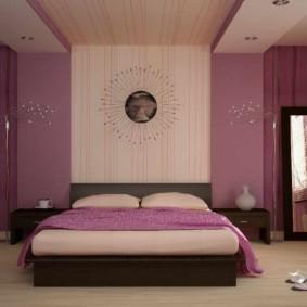 сиреневая спальня фото варианты