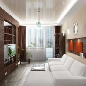 спальня-гостиная 18 кв.м. идеи варианты