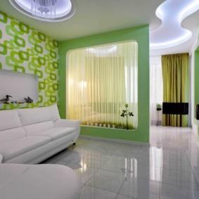 спальня-гостиная 18 кв.м. идеи вариантов