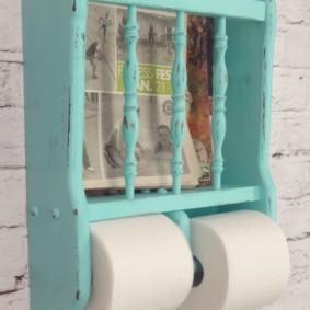 Ретро-держатель для туалетной бумаги