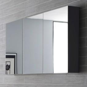 зеркальный шкаф в ванную фото варианты