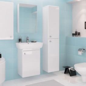 зеркальный шкаф в ванную идеи декор