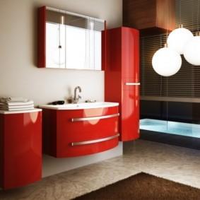 зеркальный шкаф в ванную идеи дизайна