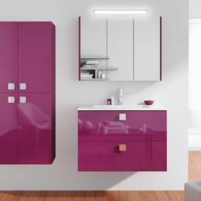 зеркальный шкаф в ванную идеи интерьер