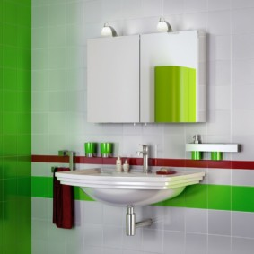 зеркальный шкаф в ванную идеи вариантов