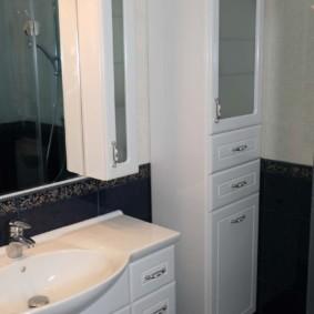 зеркальный шкаф в ванную виды фото