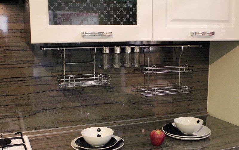 Кухонный фартук из жаростойкого стекла