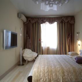 спальня 10 кв метров в светлых тонах