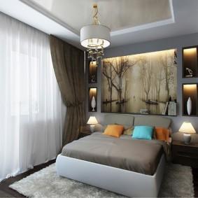 спальня 10 кв метров интерьер