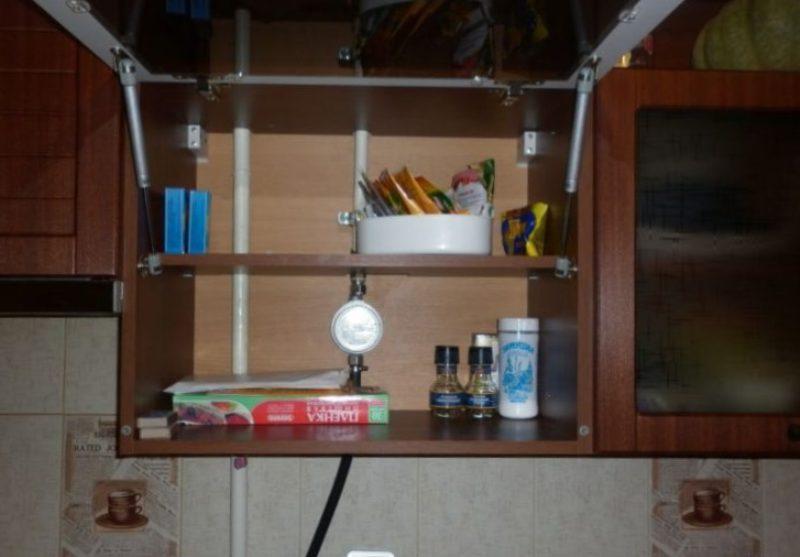 газовая труба на кухне как скрыть