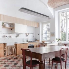 дизайн кухни столовой фото идеи