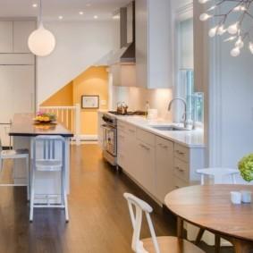 дизайн кухни столовой идеи дизайна