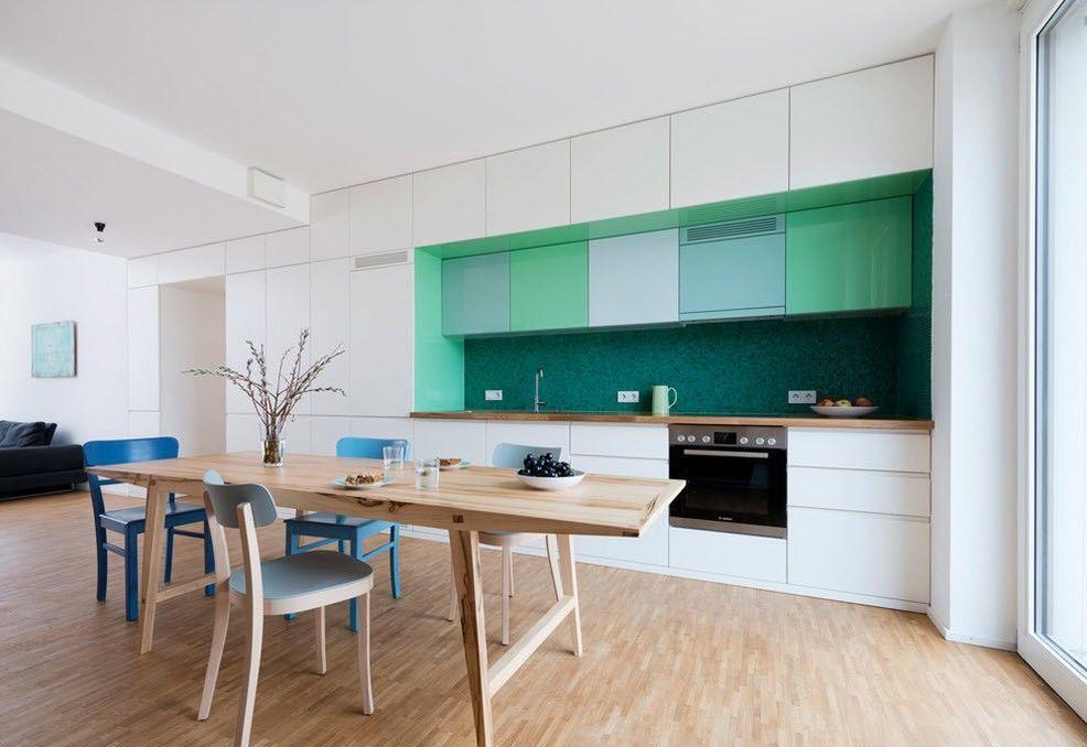 дизайн кухни столовой идеи планировки