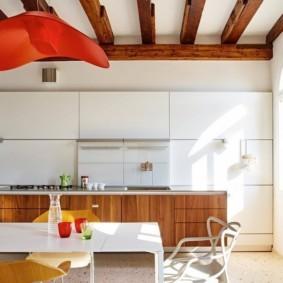 дизайн кухни столовой мебель