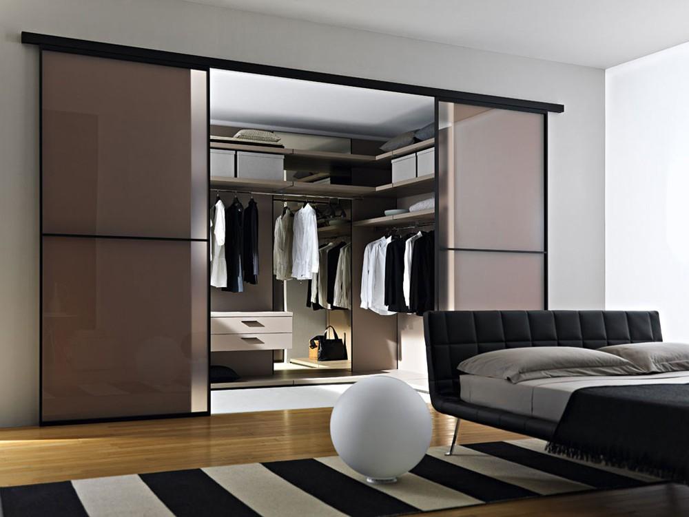 шкаф купе в спальне