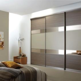 встроенный шкаф купе в спальне идеи