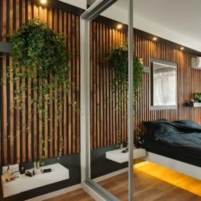 встроенный шкаф купе в спальне фото идеи