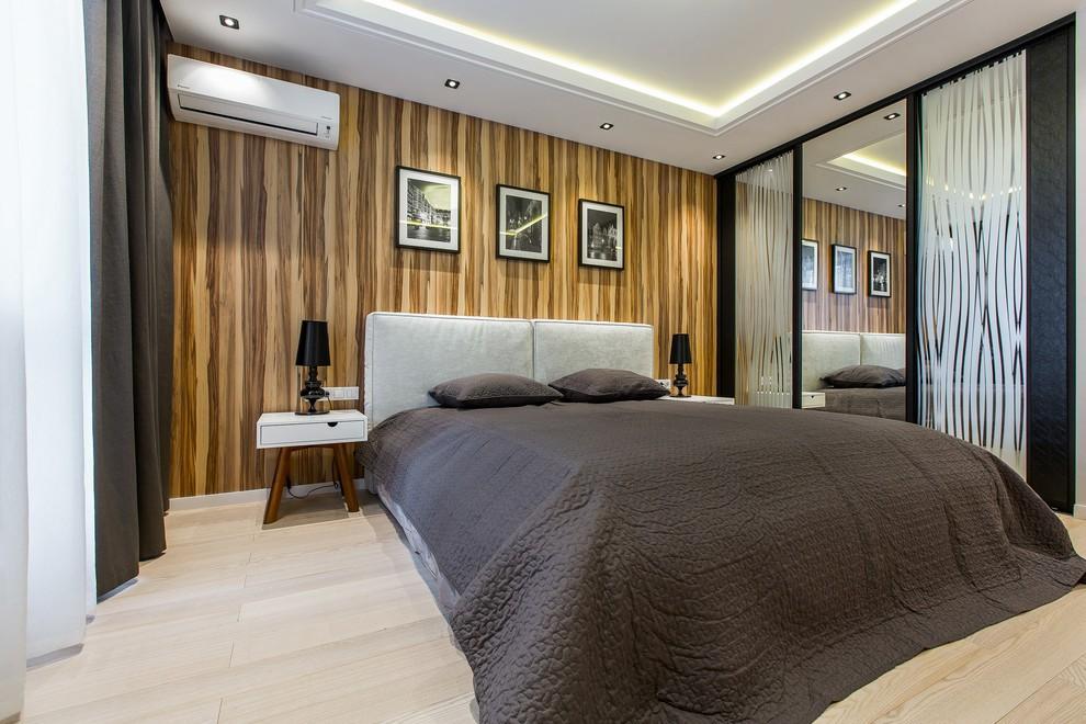встроенный шкаф купе в спальне дизайн