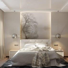 спальня 10 кв метров декор фото