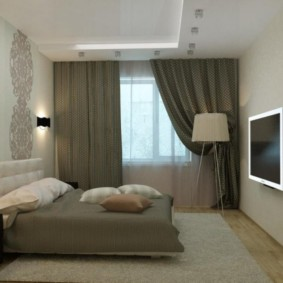 спальня 10 кв метров декор идеи