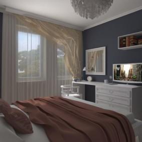 спальня 10 кв метров фото декор