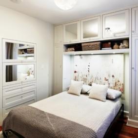 спальня 10 кв метров идеи декора