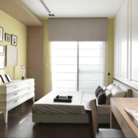 спальня 10 кв метров идеи фото