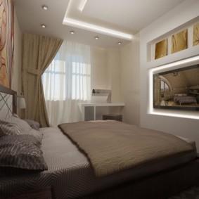 спальня 10 кв метров интерьер идеи