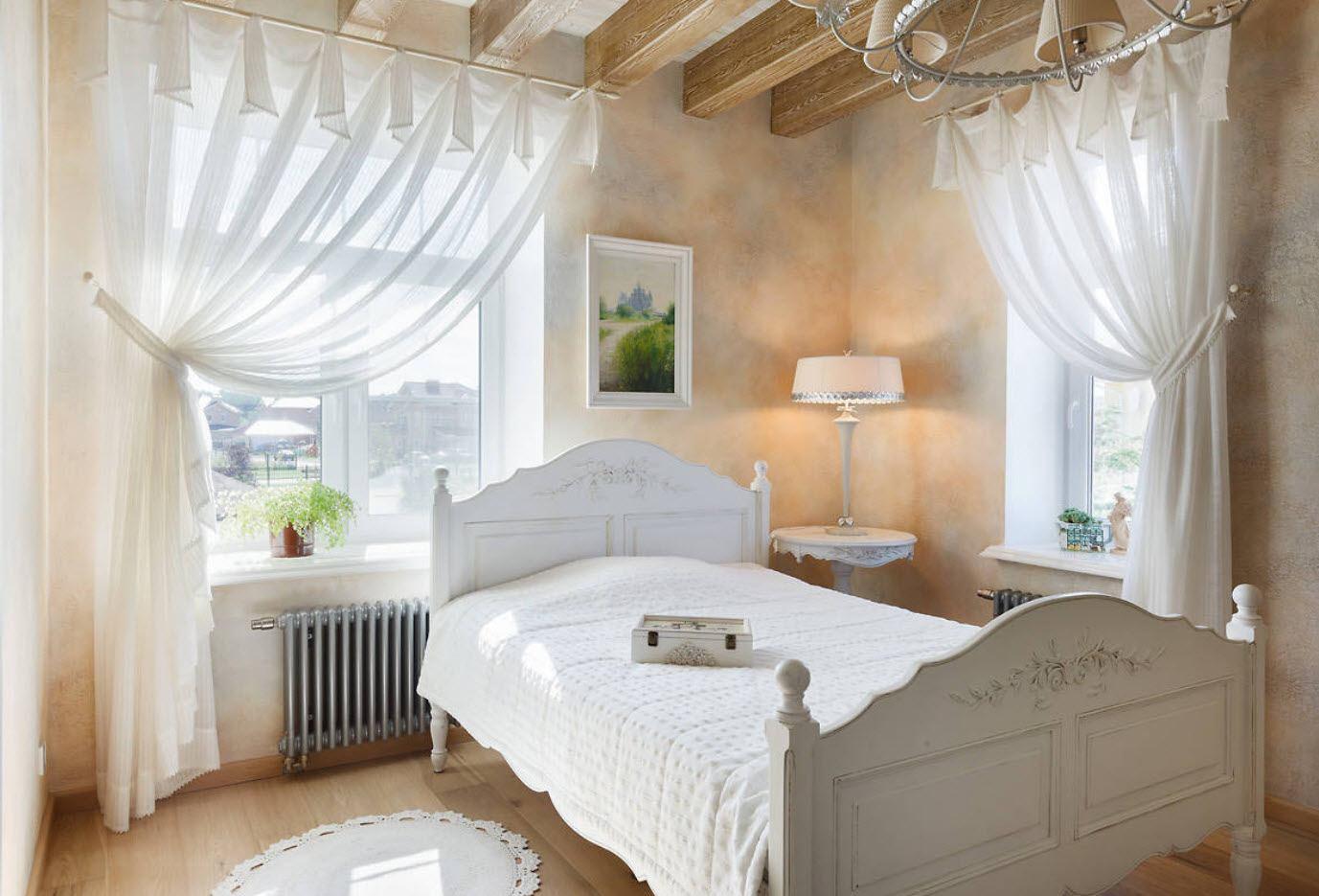спальня 10 кв м шебби шик