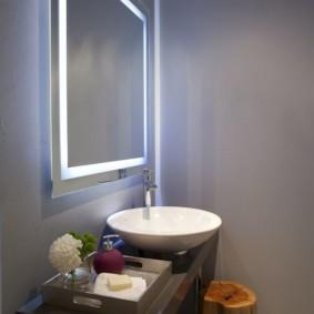 зеркало в ванную фото дизайн
