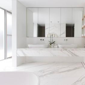 зеркало в ванную дизайн идеи