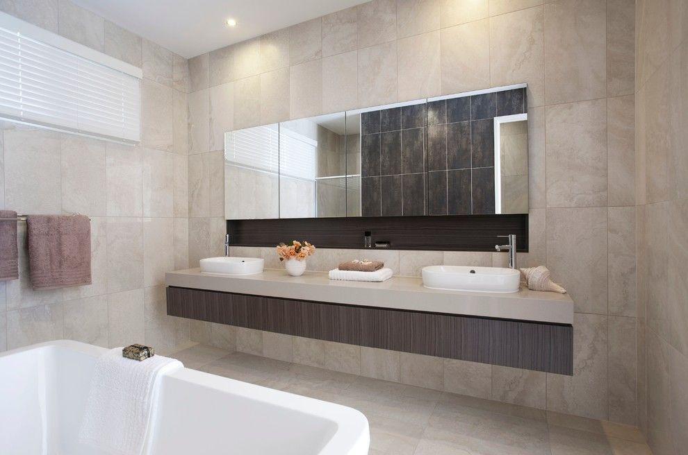 зеркало в ванную широкое