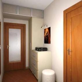 антресоли в коридоре интерьер
