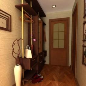 антресоли в коридоре виды декора