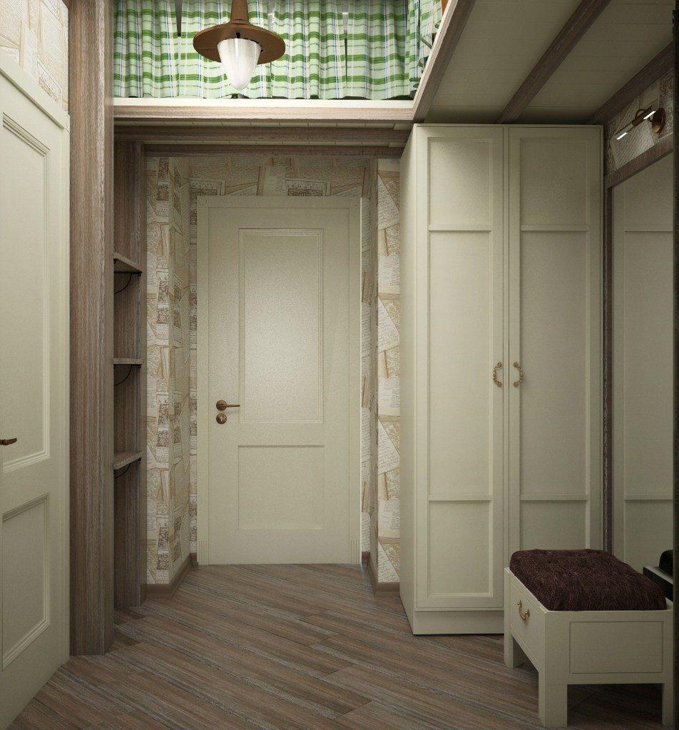 антресоли в коридоре дизайн
