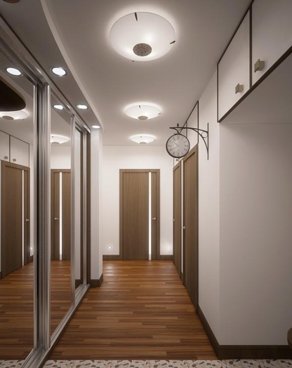 узкий коридор встроенный шкаф освещение фото желаю крепкого здоровья