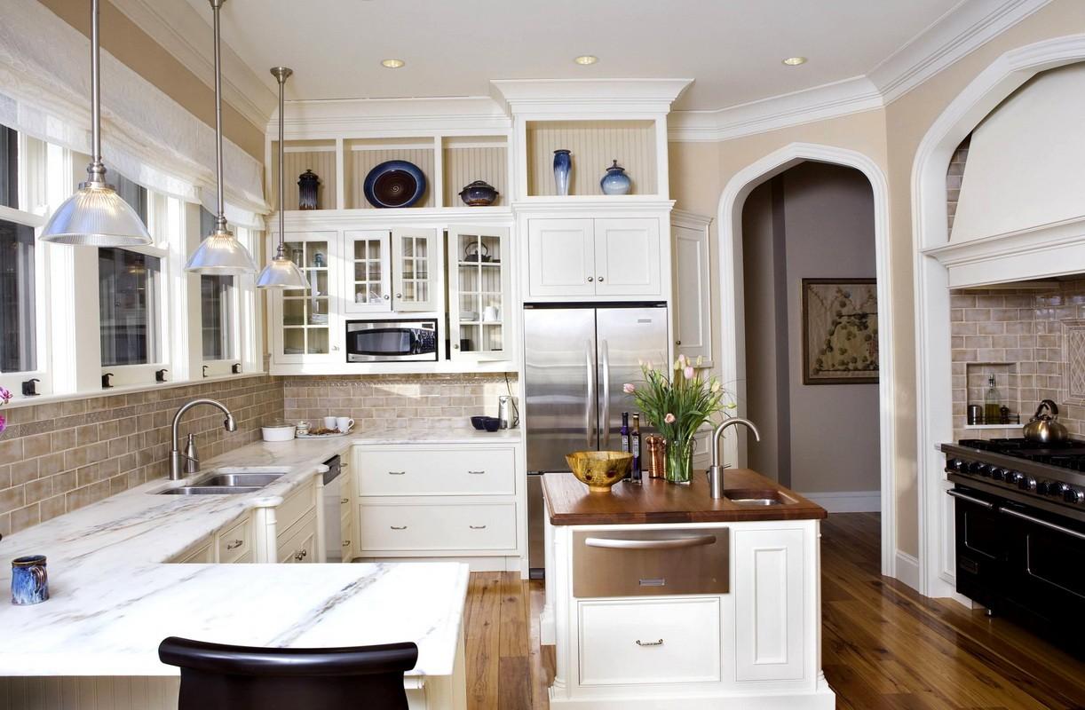 арки на кухне вместо дверей