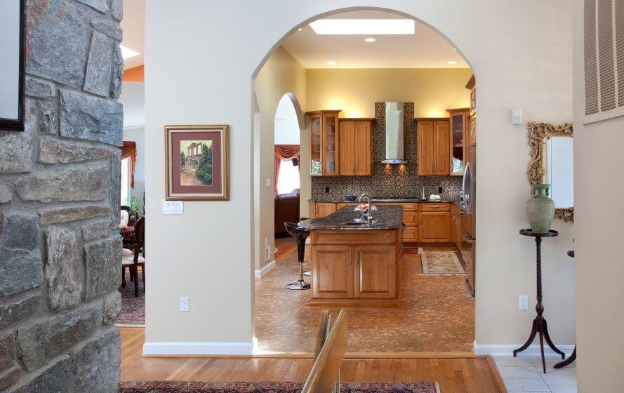 арки на кухню разновидности