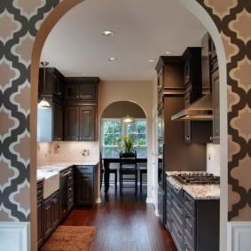 арки на кухню вместо дверей фото