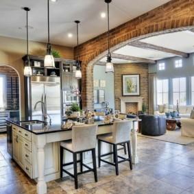 арки на кухню вместо дверей идеи фото