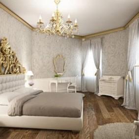 белая спальня дизайн