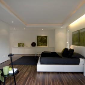 белая спальня дизайн фото