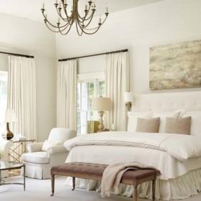 белая спальня идеи дизайна