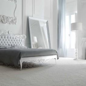 белая спальня интерьер фото