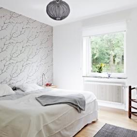 белая спальня интерьер идеи